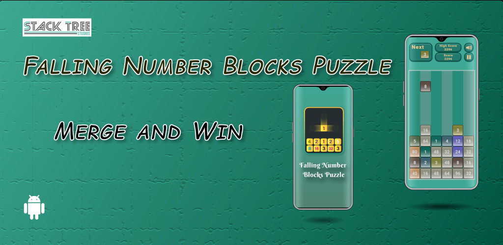 Simple and addictive falling numbers puzzle