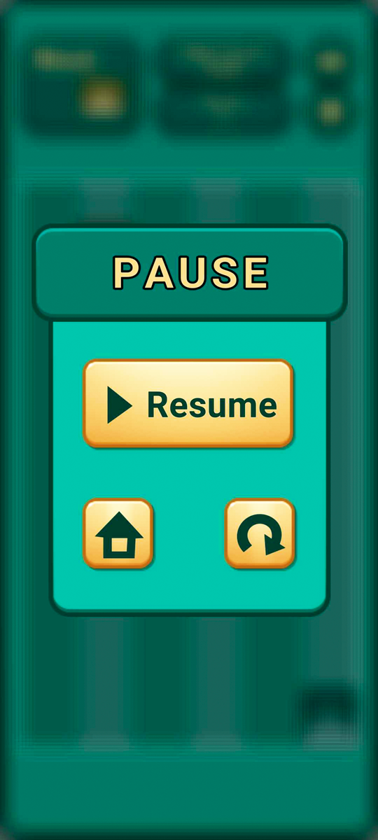 Falling Number Blocks Puzzle Game Pause