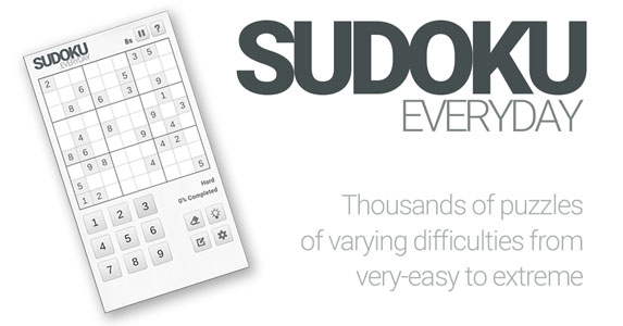 Sudoku Everyday by Stack Tree Studios